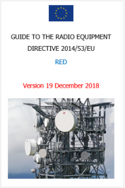 Guide to the radio equipment directive 2014/53/EU | December 2018