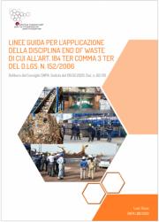 Linee Guida SNPA End of Waste art. 184 ter co. 3 ter TUA