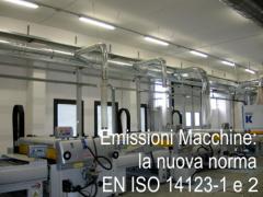 EN ISO 14123-1:2015: Check list sulla nuova norma rischio emissione di sostanze pericolose di macchine