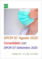 DPCM 7 Agosto 2020 | Consolidato