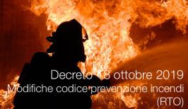 Decreto Ministero dell'Interno 18 ottobre 2019