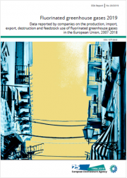 Gas fluorurati a effetto serra EEA 2019