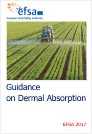 Guidance on dermal absorption EFSA 2017