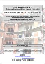 Testo Unico Sicurezza D. Lgs 81/2008 - 05.2014