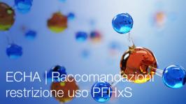 ECHA | Raccomandazioni restrizione uso PFHxS