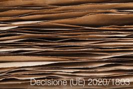 Decisione (UE) 2020/1803