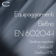 Certifico Equipaggiamenti Elettrici EN 60204-1 Ed. 2018