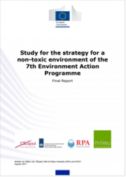 Study for the strategy for a non-toxic environment