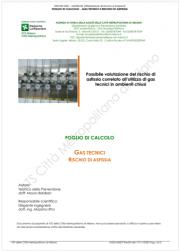 Gas tecnici e rischio di asfissia: Tool di calcolo