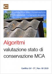 Algoritmi valutazione stato di conservazione MCA