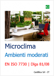 Microclima ambienti moderati: EN ISO 7730
