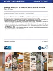 UNI/PdR 115:2021: Gestione del legno di recupero
