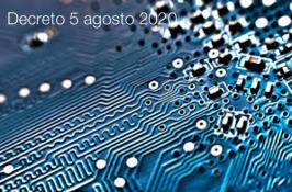 Decreto 5 agosto 2020