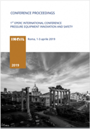 1° EPERC international conference pressure equipment innovation and safety