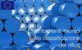 Orientamenti tecnici sulla classificazione dei rifiuti