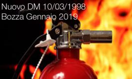 Nuovo DM 10/03/1998 | Bozza Gennaio 2019