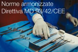 Norme armonizzate Direttiva dispositivi medici (MD) 93/42/CEE