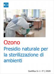 Ozono: presidio naturale per la sterilizzazione di ambienti