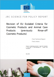 Revision of EU ecolabel criteria for cosmetic products