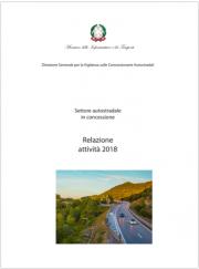Relazione Vigilanza sulle Concessionarie Autostradali - Anno 2018