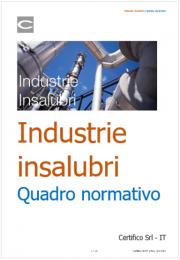 Industrie insalubri | Quadro normativo