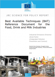 BREF in the Food, Drink and Milk Industries