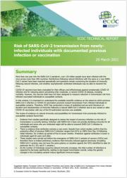 Rapporto ECDC rischio trasmissione SARS-CoV-2 da individui vaccinati