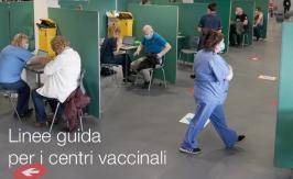 Linee guida per i centri vaccinali