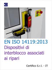 EN ISO 14119:2013 Interblocchi