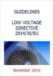 Low Voltage Directive 2014/35/EU Guidelines