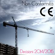 Decisioni di ritiro dal mercato Non conformità CE Macchine - 2014/2015