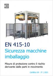 Sicurezza macchine per imballare EN 415-10
