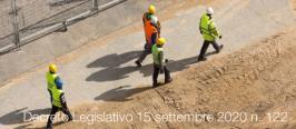 Decreto Legislativo 15 settembre 2020 n. 122