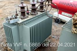 Nota VVF n. 5865 del 22.04.2021