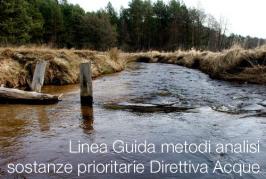 Linea Guida metodi analisi sostanze prioritarie Direttiva Acque