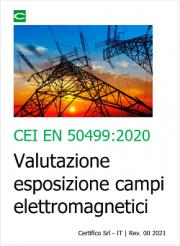 CEI EN 50499:2020 | Valutazione esposizione campi elettromagnetici