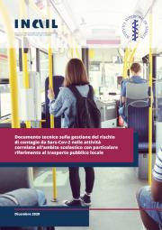 COVID-19 | Documento tecnico scuola e trasporto pubblico locale