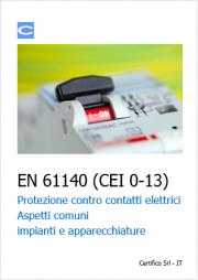 EN 61140 Protezione contro i contatti elettrici