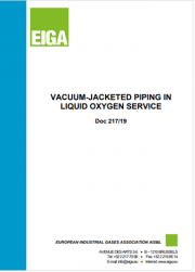 Vacuum-Jacketed Piping in Liquid Oxygen Service