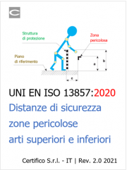 Focus ISO 13857:2019 Zone pericolose - Distanze sicurezza