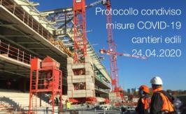 Protocollo condiviso misure COVID-19 cantieri edili | 24.04.2020