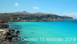 Decreto 15 febbraio 2019 | Strategia italiana del mare definizione traguardi