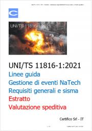 UNI/TS 11816-1:2021