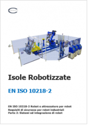 EN ISO 10218-2 Isole robotizzate