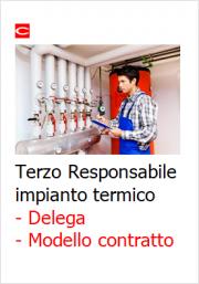 Terzo Responsabile impianti termici: Modello delega e Contratto