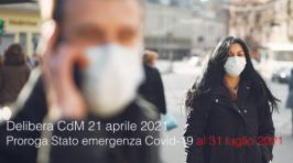 Delibera CdM 21 aprile 2021