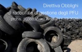 Direttiva prot. n 103883/MATTM dell'11.12.2020