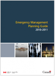Emergency Management Planning Guide 2010 - 2011