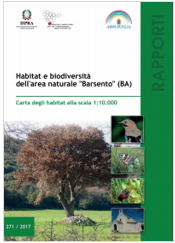"""Habitat e Biodiversità dell'area naturale """"Barsento"""" (BA)"""