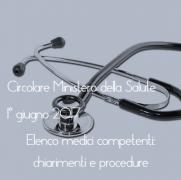 Elenco medici competenti: chiarimenti e procedure
